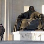 1 - Genghis Khan est le symbole national de la Mongolie - Oulan Bator